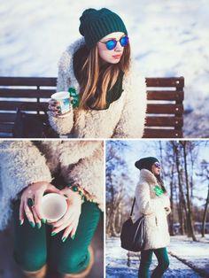 Уличная мода, русские луки, модные блогеры