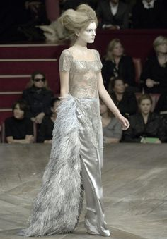 Lily Donaldson at Alexander McQueen Spring/Summer 2007