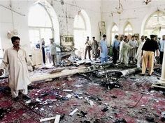 Mosque bombing in Pakistan