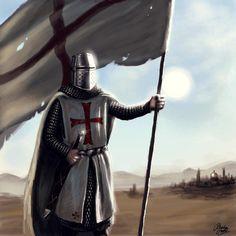 Knight Templar outside Jerusalem