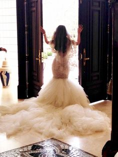 Beautiful GALIA LAHAV bride