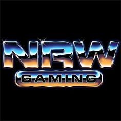 NRW Gaming #retro #design #80s #revival #chrome 80s Logo, Logos Retro, Retro Font, Graphic Design Posters, Typography Design, Logo Design, Lettering, Graffiti Characters, Sports Graphics