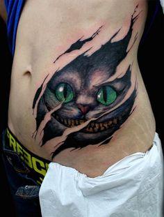 Cheshire Cat – Die Grinsekatze | Tattoo ideen, Grinsekatze und Tattoos vorlagen