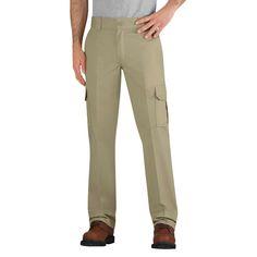 Dickies Men's Slim Straight Fit Flex Twill Cargo Pant-