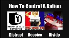 Distract, Deceive, Divide...Unity is what we need. One Love Movement!