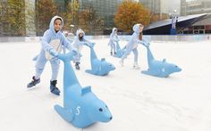 This year, Ice Rink Canary Wharf is celebrating one of the area's most famous residents, Sammy the Seal. Sammy, as he is affectionately known to the locals, lives in the docks at Canary Wharf and is often found breakfasting on fresh fish, courtesy of the porters at nearby Billingsgate Market. Visitors to the ice rink this year are invited to try out the world's first 'Sealfie' wall, an interactive board that transforms skaters into Sammy the Seal, and share their pictures using the…
