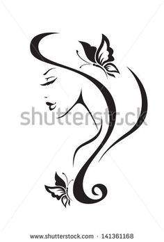 silhouette vector silhouette of young man and woman - Pesquisa Google
