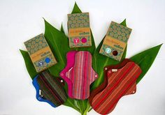 Ecofemme cloth pads = my new workplace :D