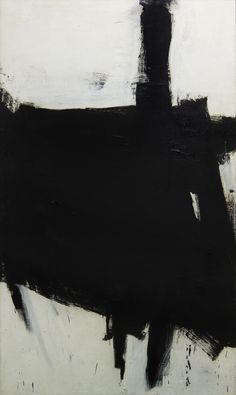 Franz Kline was an American painter mainly associated with the abstract expressionist movement centered around New York in the Franz Kline, Black And White Painting, Black And White Abstract, White Art, Willem De Kooning, Jackson Pollock, Modern Art, Contemporary Art, Jasper Johns