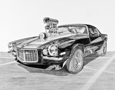 Finally done, my contribution for Autodrawings.net Car of the Month. It was definately an interesting drawing, and I think that the super blower bug has bitten ....