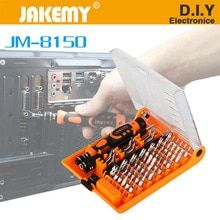 Cheap hand tools kit, Buy Quality tool kit directly from China screwdriver set Suppliers: JAKEMY Laptop Screwdriver Set Professional Repair Hand Tools Kit for Mobile Phone Computer Electronic Model DIY Repair Diy Laptop, Laptop Repair, Hand Tool Kit, Hand Tools, Pc For Sale, Pc Computer, Cool Things To Buy, Diys, Diy