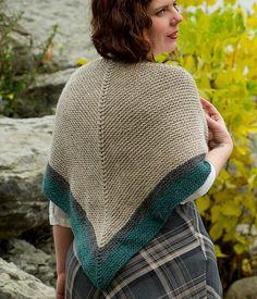 Highland Travel Shawl - Rent Shawl Free Knitting Pattern| Outlander Inspired Knitting Patterns at http://intheloopknitting.com/outlander-inspired-knitting-patterns/