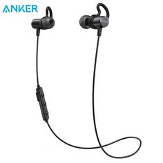 Anker SoundBuds Surge Lightweight Wireless Headphones Bluetooth 4.1 Sports Earphones with Water-Resistant Nano Coating