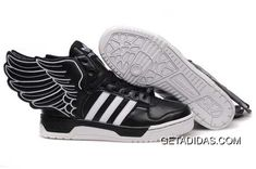 new arrival 1fd68 b7961 365 Days Return Adidas Jeremy Scott Wings 2.0 Enjoy Black White Shoes  Abrasion Resistant TopDeals, Price   95.06 - Adidas Shoes,Adidas  Nmd,Superstar, ...