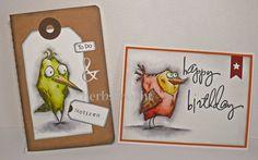 herbsti's Stempel-Zone: Haufenweise Crazy Birds
