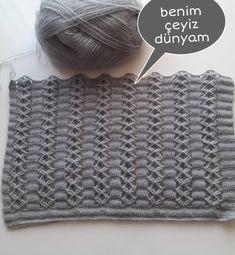 Örgü Easy Crochet, Free Crochet, Double Crochet, Crochet Hats, Easy Knitting Patterns, Free Knitting, Stitch Patterns, Crochet Hat For Beginners, Crocodile Stitch