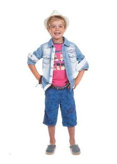 Kids wear Moodstreet SS13 Blouse: B25T4 Top: T03T4 Pants: P30T4