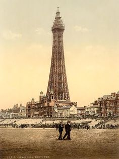 Blackpool tower 1890's