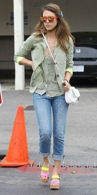 Celeb mom style steals: Copy Jessica Alba's chic summer look