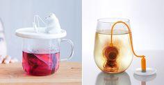 Whimsical tea infusers.