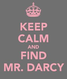 Mr. Darcy, Mr. Darcy