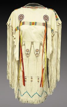 Native American http://nativeamericanencyclopedia.com/wp-content/uploads/2011/06/Southern-Plains-Buckskin-Dress.jpg