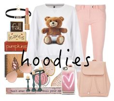 """""""hoodies inspiration"""" by jasmimestefany ❤ liked on Polyvore featuring Puma, Chantecaille, Natural Life, Casetify, Balenciaga, Chanel, Moschino, New Look and Ray-Ban"""