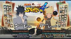 Naruto Shippuden Ultimate Ninja Storm 4 All Characters, Costumes, Forms,...