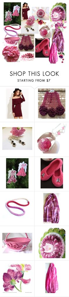 """""""Angels on Earth"""" by anna-recycle ❤ liked on Polyvore featuring Scialle, modern, rustic and vintage"""