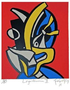 Leger Demain II by Dick Frizzell