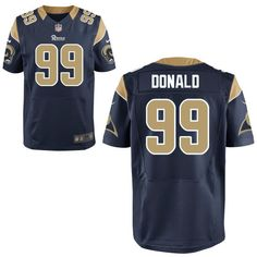 Aaron Donald  99 St- Louis Rams Nike 2014 NFL Draft  2 Pick Elite Jersey 96cd0c720