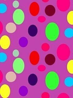 Tecido Bolinhas Coloridas - Cor 01 www.elo7.com.br/modelarcasa  www.modelarcasa.com.br  www.facebook.com/modelarcasa  contato@modelarcasa.com.br