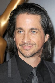 photos of michael easton  | Michael Easton - 100 Hottest Soap Opera Stars - Zimbio  i love this man, why can't just regular men have long hair anymore.  can't get steve to grow his out he says he gets headaches (yeah right)  and whats with rick springfield you would think he's an old man or something, his hair is way to short.