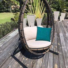 Arlmont & Co. Raelynn Double Spreader Bar Hammock & Reviews | Wayfair Outdoor Cushions And Pillows, Outdoor Pillow Covers, Decor Pillows, White Pillows, Best Outdoor Furniture, Deck Furniture, Indoor Outdoor, Outdoor Living, Outdoor Hammock