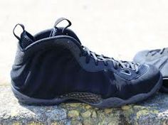 Authentic Nike Foamposites Black Suede for sale online free shipping  http://www.firesneakers.com