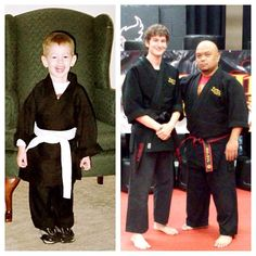 I am proud of this young man.  I've had the honor and privilege of nurturing and guiding him for the last 15 years in the martial arts. He started with me when he was 2 years old.  I am thankful for his parents entrusting me with his training and personal growth. Never did I imagine when he first started that we would reach this day.  He's a true testament to the power of the martial arts. He earned every step of the way. He did not have an easy time but he powered through it all.  Today I…