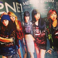 2NE1 on Zipper Magazine