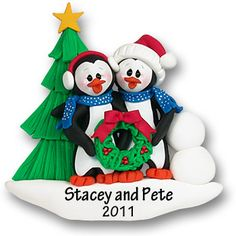 Adorable as a First Christmas Together ornament