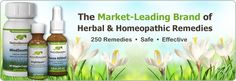 The Market-Leading Brand of Herbal & Homeopathic Remedies