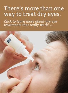 Got dry eyes that just won't improve? Don't lose hope - eye doctors have many different treatments now. Learn more...