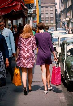 Carnaby Street photographed by Jean-Philippe Charbonnier in 1966