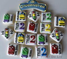 Chuggington Mini Cookies, by Flour De Lis