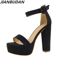 Cheap elegant sandals, Buy Quality toe sandals directly from China brand sandals women Suppliers: Brand Elegant sandals Women High Heels Pumps Super high heel Women's Banquet sandals waterproof platform toe sandals High Heel Pumps, Platform High Heels, Pumps Heels, Cheap High Heels, Super High Heels, Womens High Heels, Sexy Sandals, Women Sandals, Sandals Sale