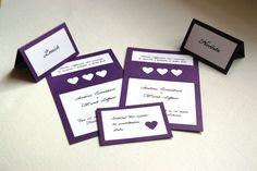 Originální svatební oznámení fialkové - srdíčkové! / Zboží prodejce Misankaaa | Fler.cz Cards Against Humanity