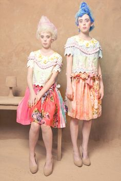 theres somethin about this i love so much. the dresses are so interesting and feminime! like out of a fairytale.