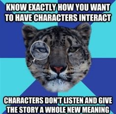 Writer Leopard- Characters