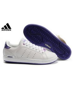 new concept 2ab91 ea1b3 Adidas Original Stan Smith Blanche Violet Very promising and market style.