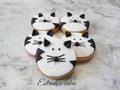Estrade's cakes: galletas infantiles de gatos.