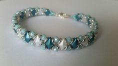 Playing with my beads...DiamonDuos, O-Beads & Rondelles