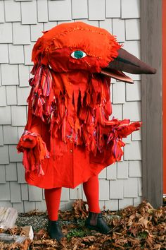 Bird costume, Phoebe Wahl.